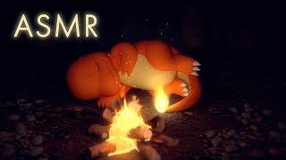 【公式】ASMR・焚き火音 – ヒトカゲといっしょ Charmander's Fireside Slumber