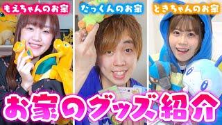 【アイテム紹介】メンバーのおうちにあるポケモングッズを紹介します!