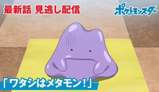 アニメ「ポケットモンスター」第19話「ワタシはメタモン!」-期間限定配信-