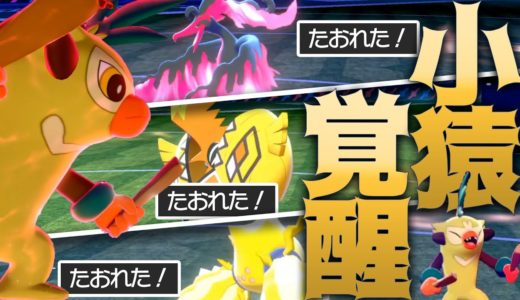 【5タテ】伝説ポケモン共をボコボコにしてくバチンキー【ポケモン剣盾】